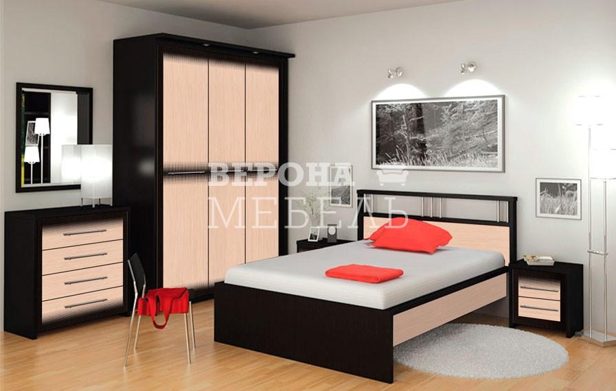 Глянец 8 спальня - мебель верона.