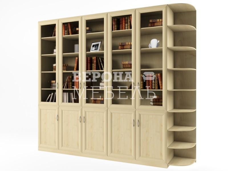 Сильвио 5,5 библиотека - мебель верона.