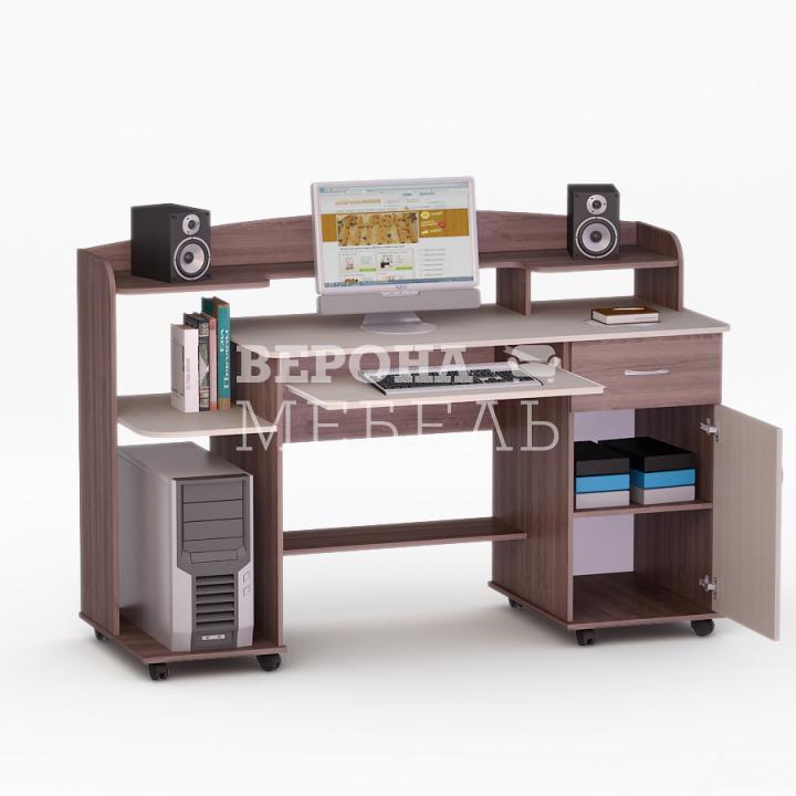 Полет-9 стол компьютерный - мебель верона.