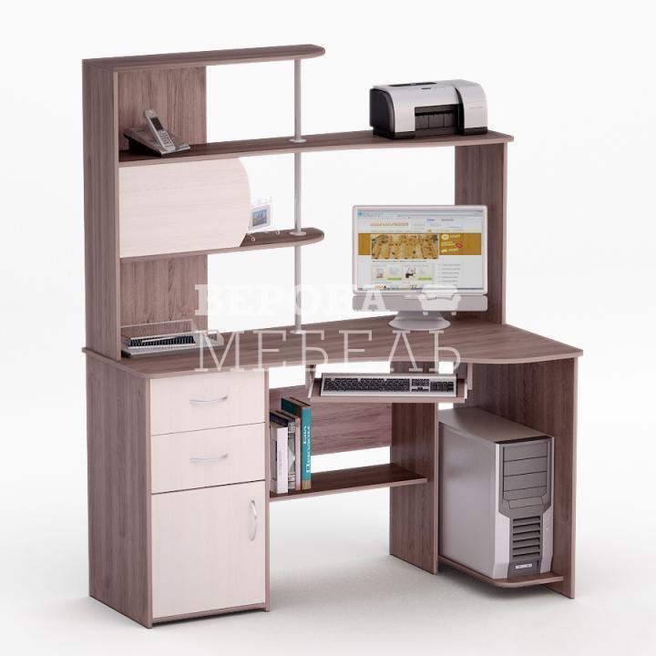 Полет-28 стол компьютерный - мебель верона.
